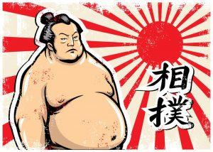 相撲の力士
